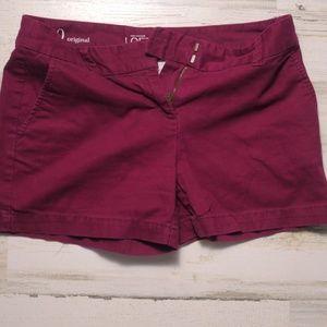 Ann Taylor Loft Red Short Size Original 0